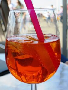 image of an Aperol Spritz cocktail